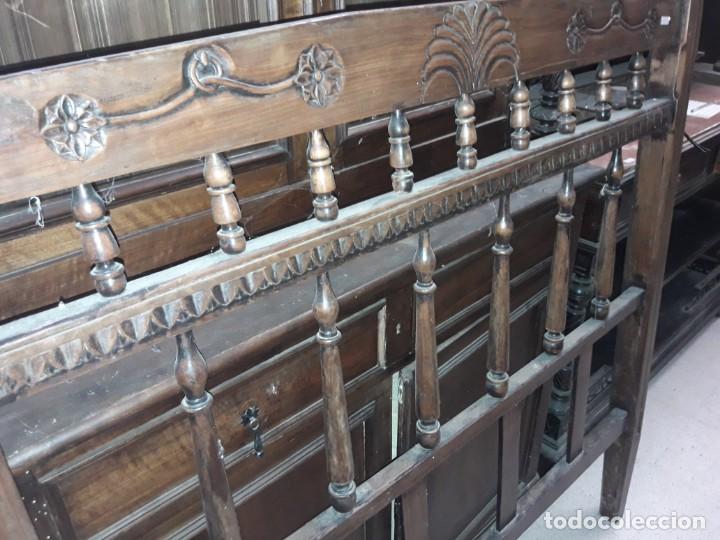 Antigüedades: cabecero cama rustico - Foto 2 - 212751415