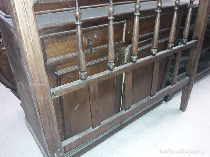 Antigüedades: cabecero cama rustico - Foto 3 - 212751415