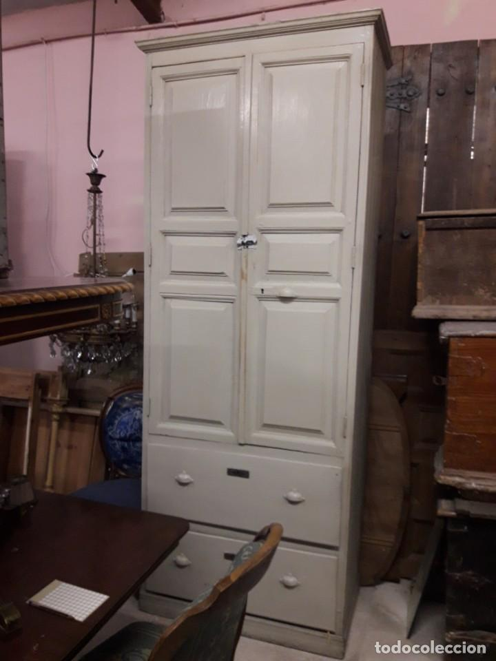 ARMARIO RUSTICO (Antigüedades - Muebles Antiguos - Armarios Antiguos)
