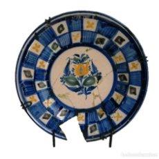 Antigüedades: PLATO CERÁMICA DE ALCORA S XIX. Lote 212789450
