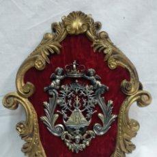 Antigüedades: PILA BENDITERA DE PLATA. Lote 212808762