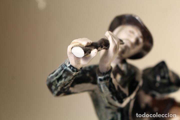 Antigüedades: FIGURA MUSICOS PORCELANA VICTOR DE NALDA VALENCIA - Foto 6 - 268862949