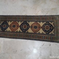 Antigüedades: ALFOMBRA PERSA NAIN DE 180 X 68 CM.. Lote 212873430