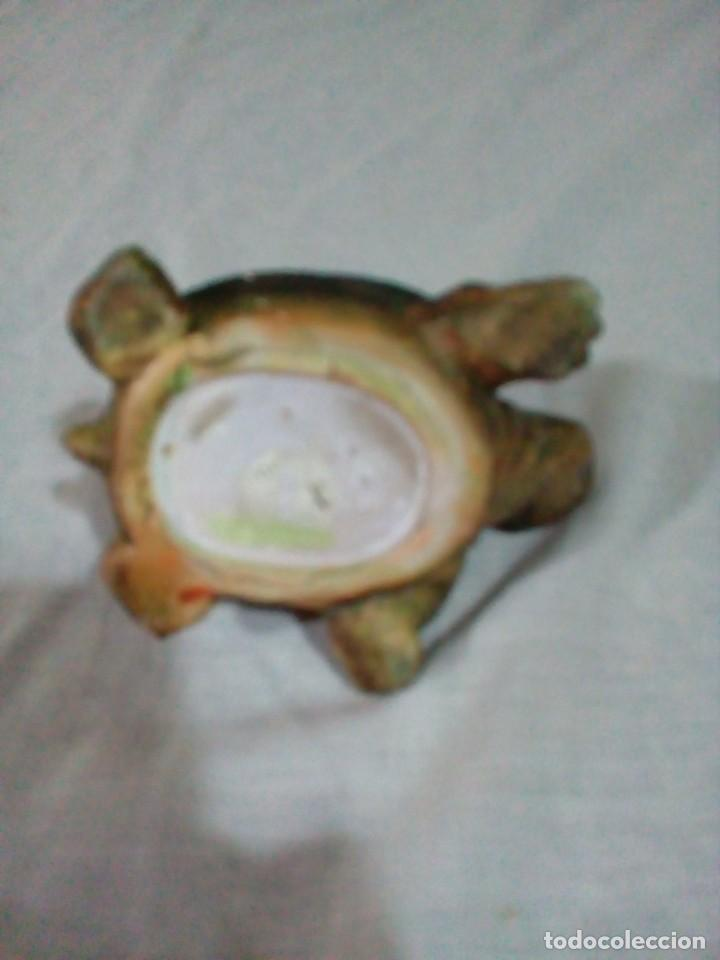 Antigüedades: portavelas en forma de tortuga - Foto 7 - 212874880