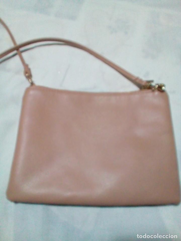 Antigüedades: bonito bolso color beige nuevo - Foto 3 - 212878630
