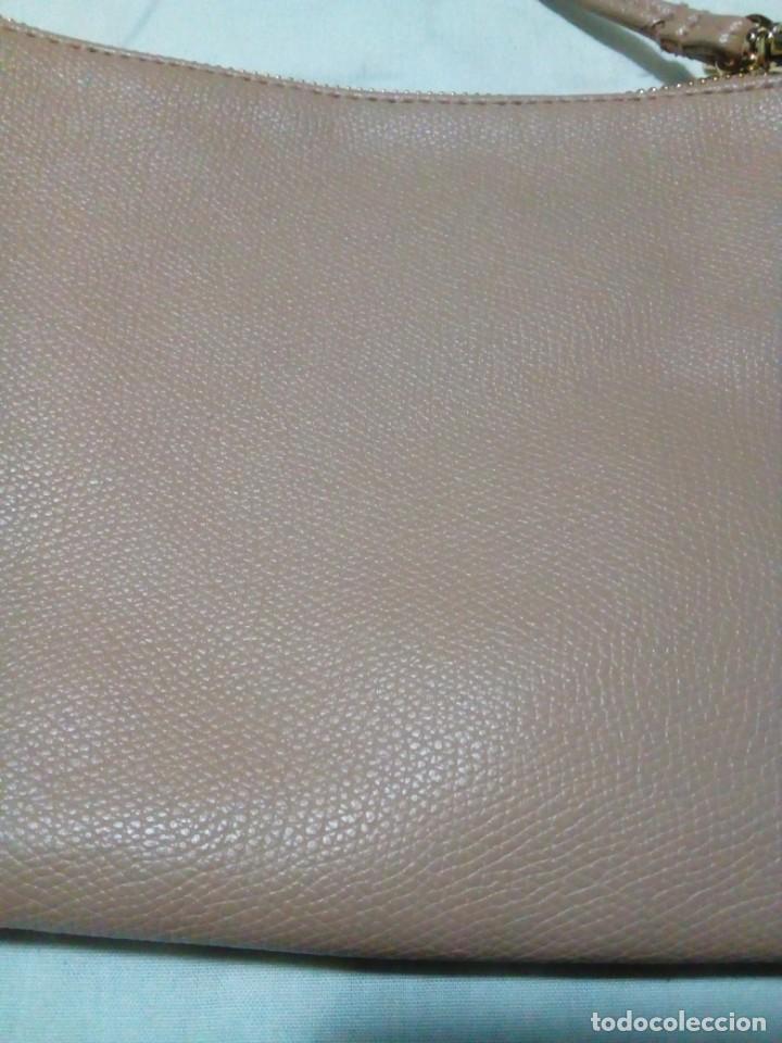 Antigüedades: bonito bolso color beige nuevo - Foto 4 - 212878630