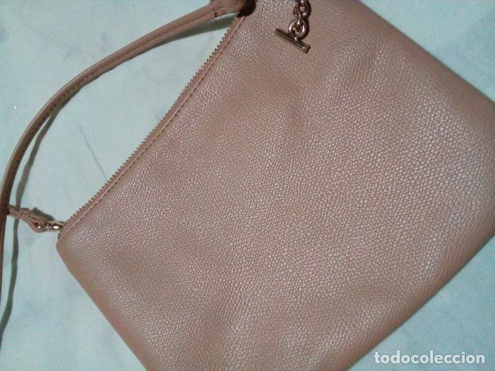 Antigüedades: bonito bolso color beige nuevo - Foto 5 - 212878630