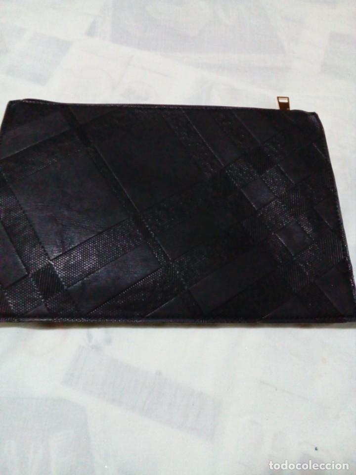 Antigüedades: bonito y elegante bolso de mano,negro,nuevo - Foto 3 - 212878671
