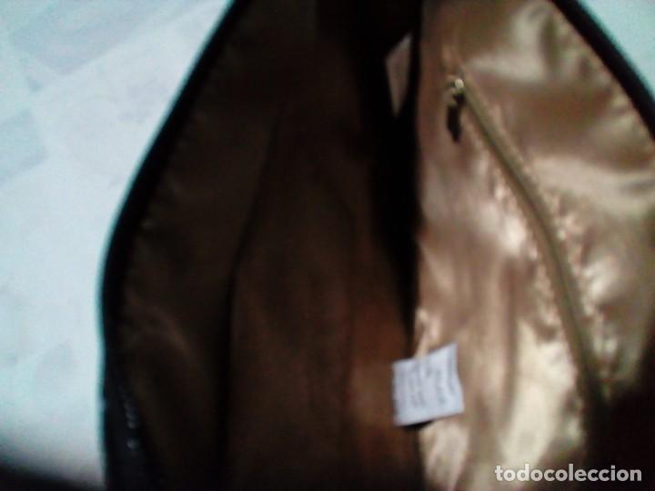 Antigüedades: bonito y elegante bolso de mano,negro,nuevo - Foto 5 - 212878671