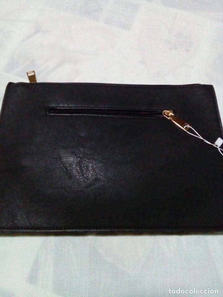 Antigüedades: bonito y elegante bolso de mano,negro,nuevo - Foto 7 - 212878671