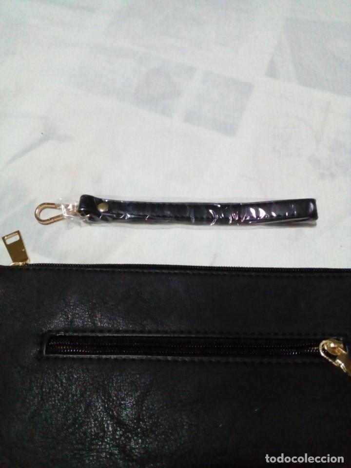 Antigüedades: bonito y elegante bolso de mano,negro,nuevo - Foto 9 - 212878671