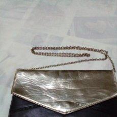 Antigüedades: ELEGANTE BOLSO DE NEGRO Y ORO. Lote 212878701