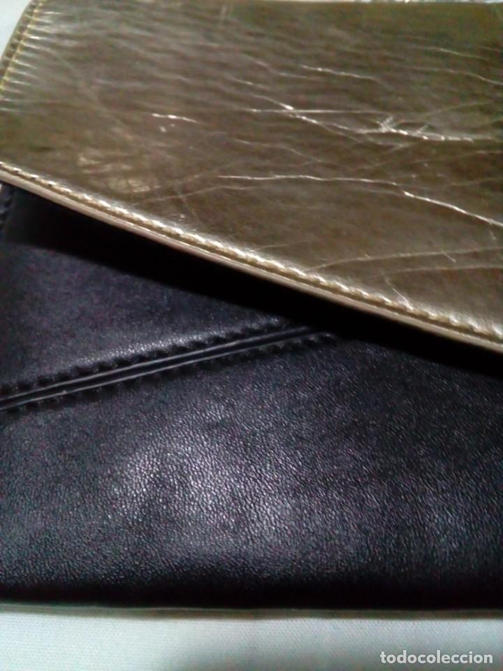 Antigüedades: elegante bolso de negro y oro - Foto 3 - 212878701
