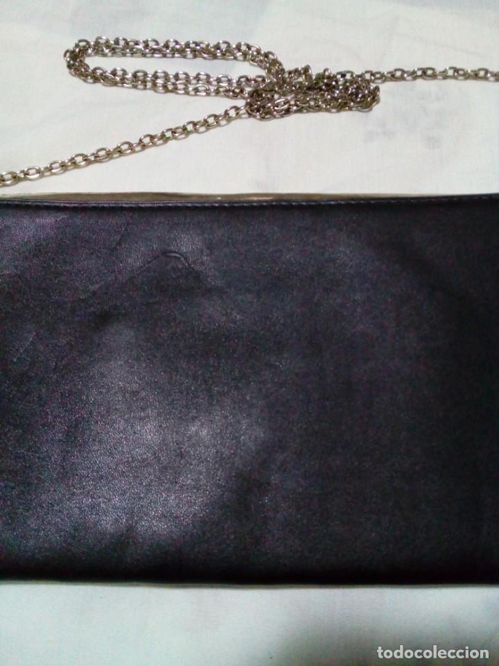 Antigüedades: elegante bolso de negro y oro - Foto 4 - 212878701