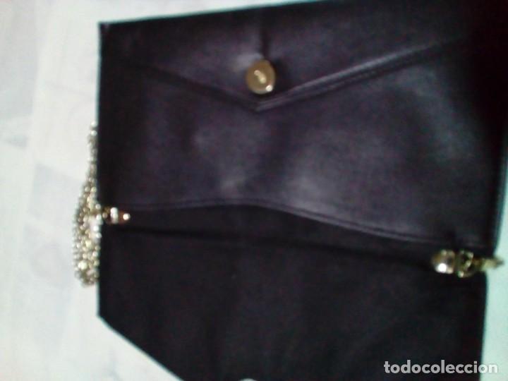 Antigüedades: elegante bolso de negro y oro - Foto 5 - 212878701