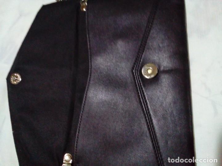 Antigüedades: elegante bolso de negro y oro - Foto 6 - 212878701