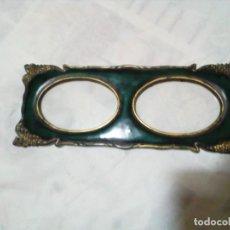 Antigüedades: PORTAFOTOS DOBLE. Lote 212911091