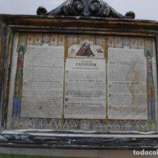 Antigüedades: ANTIGUO SACRUM CONVIVIUM ( PARA LITURGUIA). Lote 212915471