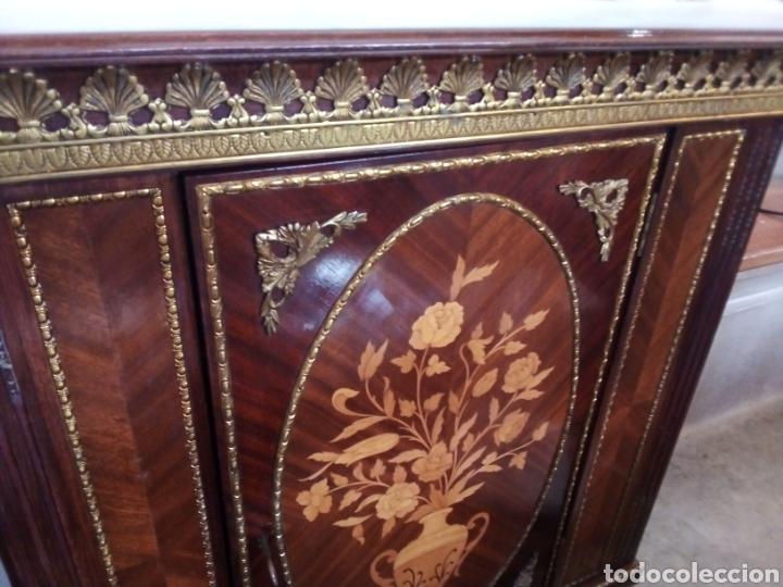 Antigüedades: Fernando Duran, Napoleón III, mueble bar, entredos - Foto 5 - 212916292