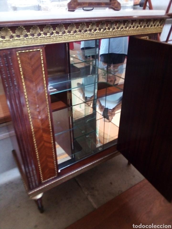 Antigüedades: Fernando Duran, Napoleón III, mueble bar, entredos - Foto 6 - 212916292