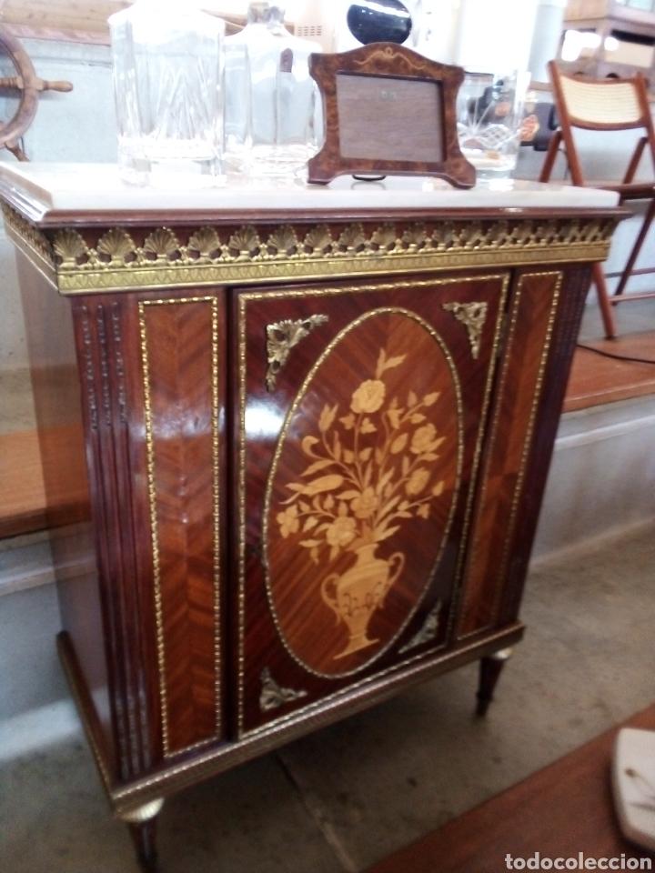 Antigüedades: Fernando Duran, Napoleón III, mueble bar, entredos - Foto 4 - 212916292