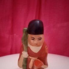 Antigüedades: DIOS JUROJIN FIGURA. JAPÓN. DIOS DE LA FORTUNA, LA VEJEZ Y LA LONGEVIDAD. DEIDAD, SABIO. Lote 212916645