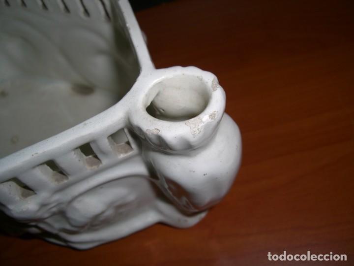 Antigüedades: PEQUEÑA JARDINERA EN CERÁMICA - Foto 6 - 212929142
