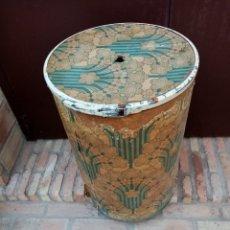 Antigüedades: ANTIGUO BIDÓN INDUSTRIAL MUY DECORATIVO. Lote 212929910