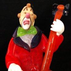 Antiquités: BONITO PALLASO MUSICO DE CRISTAL DE BOHEMIA. Lote 212944842