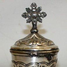 Antigüedades: BONITO COPON EN METAL PLATEADO DE FINALES DEL SIGLO XIX. Lote 212956735