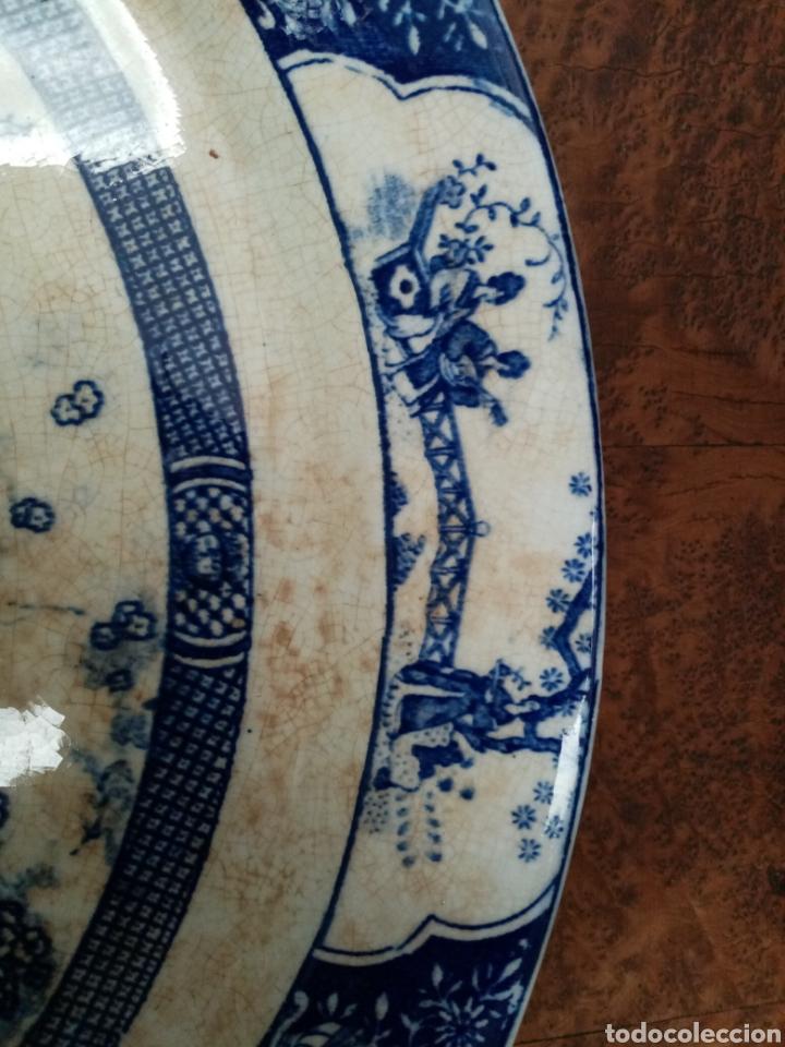 Antigüedades: Antigua bandeja de san juan sevilla - Foto 2 - 43621003