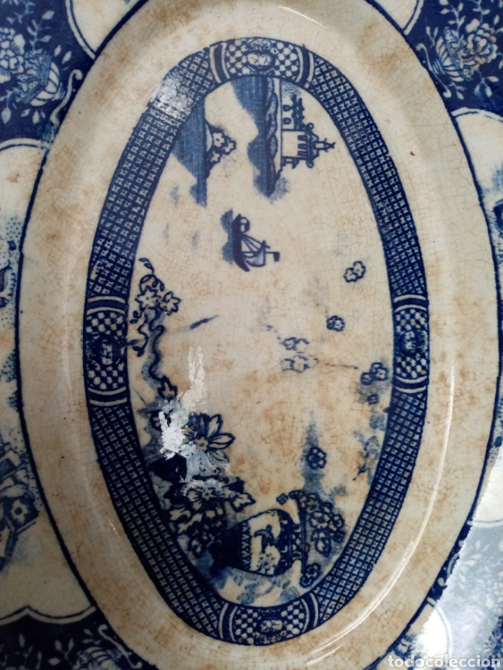 Antigüedades: Antigua bandeja de san juan sevilla - Foto 3 - 43621003