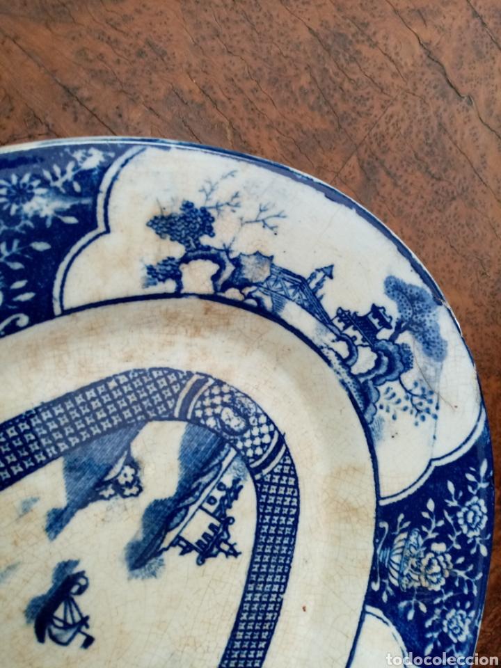 Antigüedades: Antigua bandeja de san juan sevilla - Foto 4 - 43621003