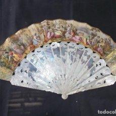 Antigüedades: ESPECTACULAR Y ANTIGUO ABANICO. Lote 212992605