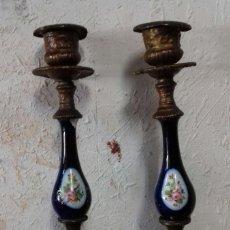 Antigüedades: CANDELABROS. Lote 212998173