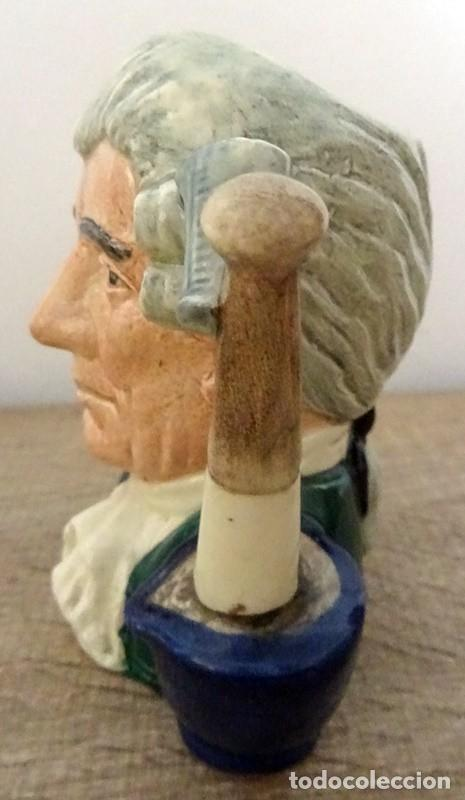 Antigüedades: JARRA ROYAL DOULTON ENGLAND CHARACTER JUGS FROM WILLIAMSBURG - Foto 3 - 213013692