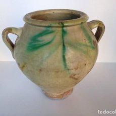 Antiguidades: CERÁMICA TRADICIONAL DE ÚBEDA, ORZA. Lote 213022908