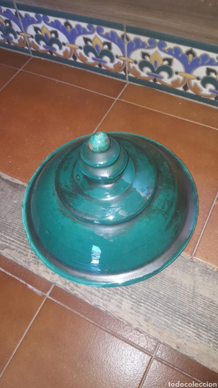 Antigüedades: anfora bañada en verde con asas de lagarto - Foto 6 - 213040797