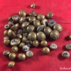 Antiquités: LOTE DE BOTONES ANTIGUOS MILITARES. Lote 213054991