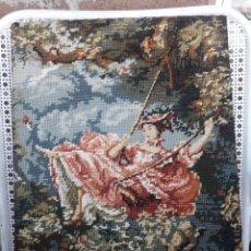 Antigüedades: TAPIZ FRANCÉS, CREACIONES MARGOT, PARIS. Lote 213064493
