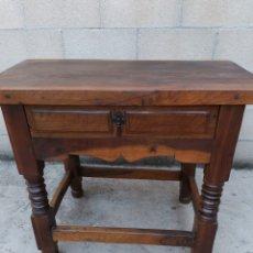 Antigüedades: MESA TOCINERA. Lote 213126845