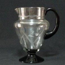 Antigüedades: JARRA DE CRISTAL DE LA FABRICA DE CARTAGENA.. Lote 213143565