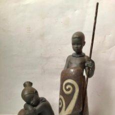 Antigüedades: GRUPO DE FIGURAS LLADRO ORIGINAL DESCATALOGADA , SELLADAS Y DATADAS. Lote 213192545