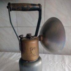 Oggetti Antichi: LAMPARA DE MINERO BREVETE SGDG MODELE DEPOSE. Lote 213197466