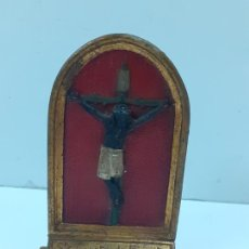 Antigüedades: CRISTO DE LEPANTO (503) MADERA. Lote 213204097