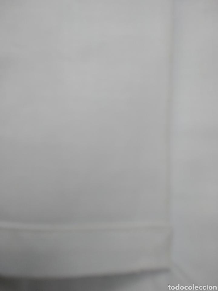 Antigüedades: Sabana encimera blanca - Foto 2 - 213229945