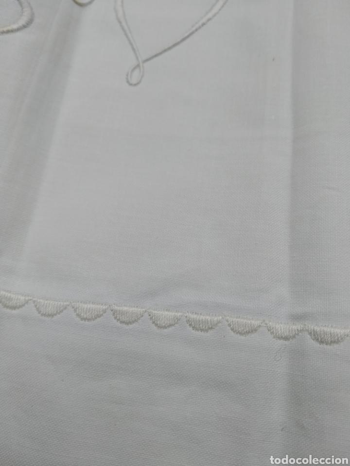 Antigüedades: Sabana encimera blanca - Foto 3 - 213229945