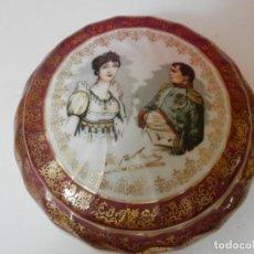 Antigüedades: JOYERO CAJA NAPOLEON Y JOSEFINA PORCELANA FRANCESA CON SELLO LUXE. Lote 213231288