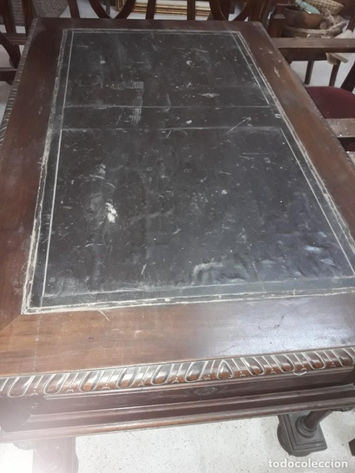 Antigüedades: mesa escritorio siglo XIX - Foto 3 - 213233403