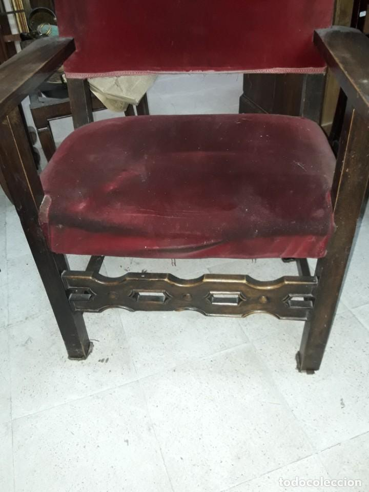 Antigüedades: sillón frailero - Foto 2 - 213233758